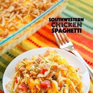 southwestern-chicken-spaghetti-plain-chicken image