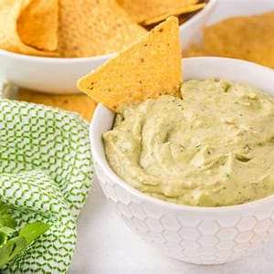 easy-creamy-guacamole-salsa-recipe-all-our-way image