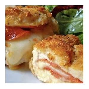 pizza-stuffed-chicken-breasts-recipe-flavorite image