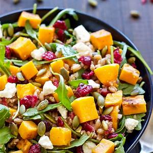 butternut-squash-farro-salad-with-arugula-and image