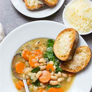 easy-tuscan-bean-soup-recipe-simply image
