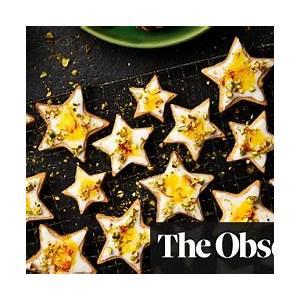yotam-ottolenghis-orange-and-saffron-shortbread-stars image