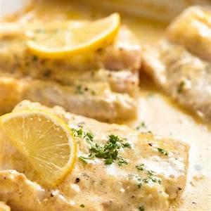 baked-fish-with-lemon-cream-sauce-recipetin-eats image