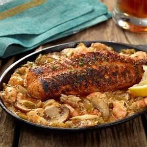blackened-catfish-with-pontchartrain-sauce image