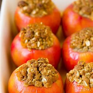 baked-apples-recipe-dinner-at-the-zoo image