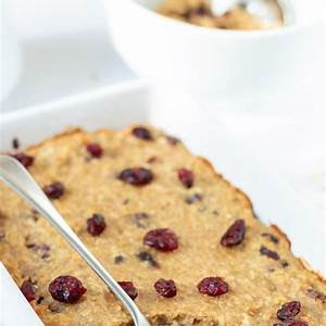 baked-cranberry-oatmeal-neils-healthy-meals image
