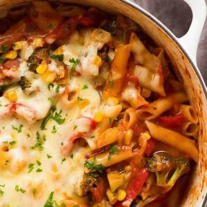 vegetable-pasta-one-pot-recipetin-eats image