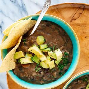 spicy-black-bean-soup-recipe-cookie-and-kate image