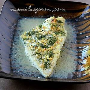 dilled-baked-cod-with-lemon-and-olive-oil-manila-spoon image