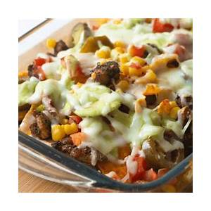 easy-taco-casserole-insanely-good image