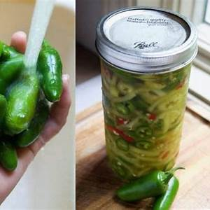 homemade-quick-pickled-hot-peppers-no-canning image