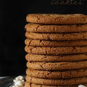 molasses-ginger-raisin-cookies-nutmeg-nanny image