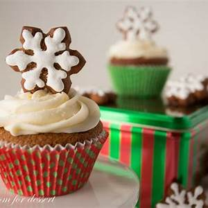 gingerbread-cupcakes-with-lemon-cream-cheese-frosting image