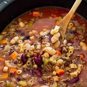 slow-cooker-pasta-e-fagioli-soup-the-recipe-critic image
