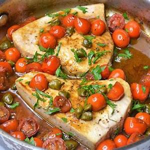 pan-roasted-swordfish-with-cherry-tomatoes-jersey-girl-cooks image
