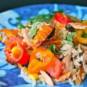 salmon-and-brown-rice-recipes-sparkrecipes image