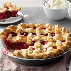 how-to-make-cranberry-pie-taste-of-home image