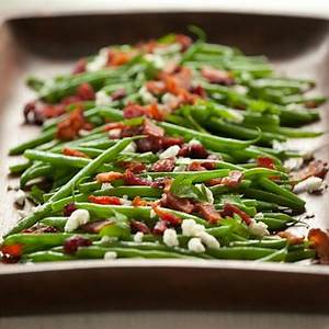 recipe-green-beans-with-goat-cheese-cranberries-and-bacon image