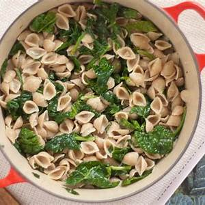 orecchiette-with-spinach-and-gorgonzola-sauce image
