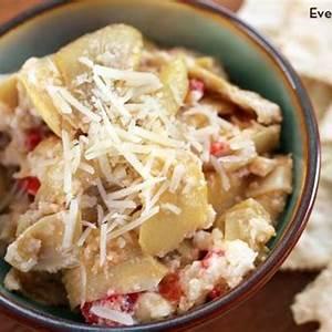 simple-hot-artichoke-dip-recipe-everyday-dishes-diy image