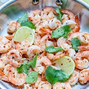 spicy-cilantro-lime-shrimp-skillet-clean-eating-made image