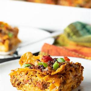 easy-make-ahead-mexican-breakfast-casserole-a-spicy image