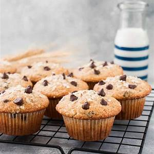oatmeal-chocolate-chip-muffins-little-sweet-baker image