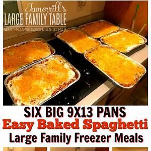 easy-baked-spaghetti-recipe-largefamilytablecom image