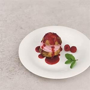 raspberry-profiteroles-recipes-woman-home image