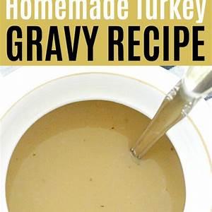 homemade-turkey-gravy-recipe-foodtastic image