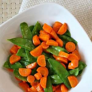 honey-glazed-pea-pods-and-carrots-recipe-girl image