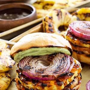 teriyaki-turkey-burgers-with-grilled-recipe-runner image