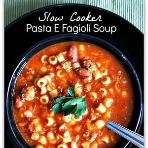 slow-cooker-copycat-olive-garden-pasta-e-fagioli-soup image
