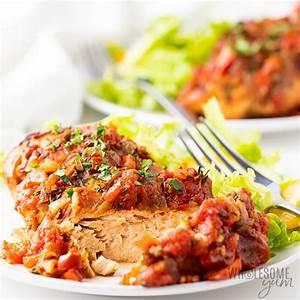 healthy-slow-cooker-chicken-cacciatore image