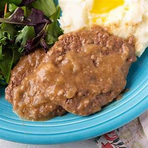 cube-steak-with-onion-gravy-retro-recipe-box image