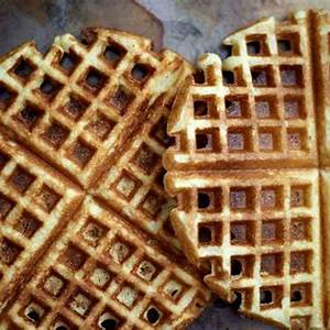 crunchy-cornmeal-waffles-king-arthur-baking image