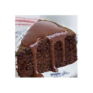 chocolate-cake-with-chocolate-orange-sauce image