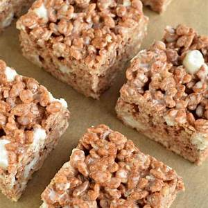 thick-and-chewy-chocolate-krispie-treats image