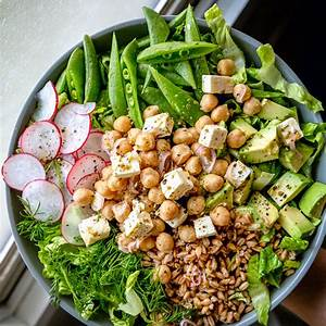 marinated-chickpea-and-feta-salad-with-spring-veggies-kitchn image
