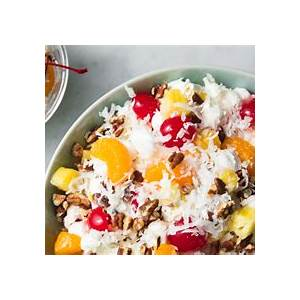 classic-ambrosia-salad-recipe-how-to-make-easy-ambrosia image
