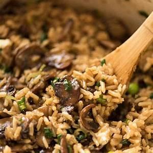 mushroom-rice-recipetin-eats image