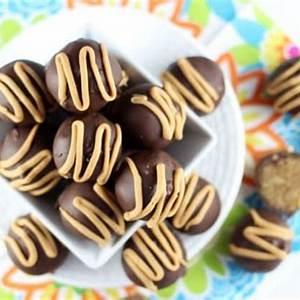 chocolate-peanut-butter-cake-truffles-recipe-food image