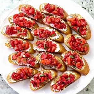 strawberry-basil-bruschetta-recipe-goat-cheese-homemade image