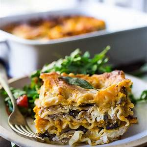 butternut-lasagna-with-mushrooms-and-sage-feasting-at-home image