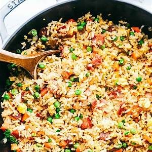 easy-bacon-fried-rice-the-recipe-critic image