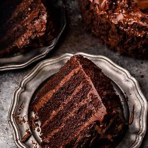 old-fashioned-devils-food-cake-baker-by-nature image