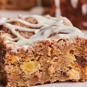carrot-cake-coffee-cake-with-cream-cheese-glaze-kitchn image