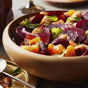 roasted-beet-and-mandarin-panzanella-salad image