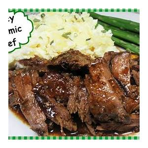 honey-balsamic-beef-slow-cooker-recipe-crockpot-beef image