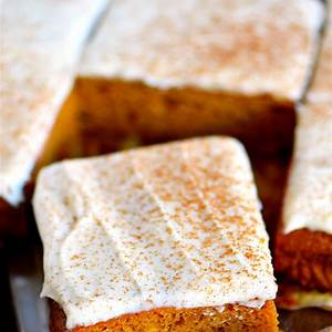 the-best-pumpkin-bars-with-brown-butter-cream-cheese image